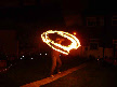 Fire staff Spining
